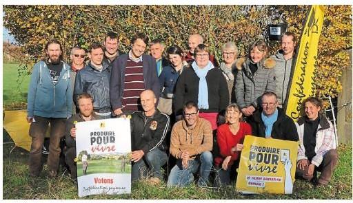 Conf d ration paysanne - Chambre agriculture orne ...